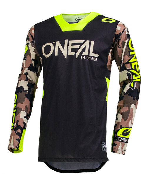 ONeal Mayhem Lite Jersey Men Ambush neon yellow